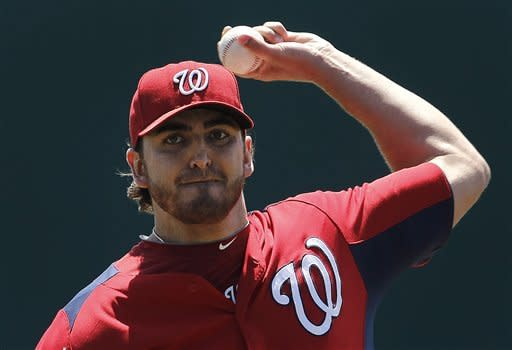 Lannan looks strong as Nationals top Astros