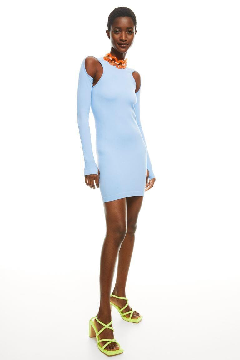 <p>We love everything about this cool <span>H&amp;M Seamless Bodycon Dress</span> ($60).</p>