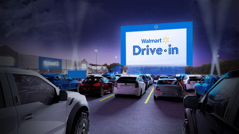 Walmart launching drive-in movie theaters at 160 stores amid COVID-19. Here's how to reserve a parking space.