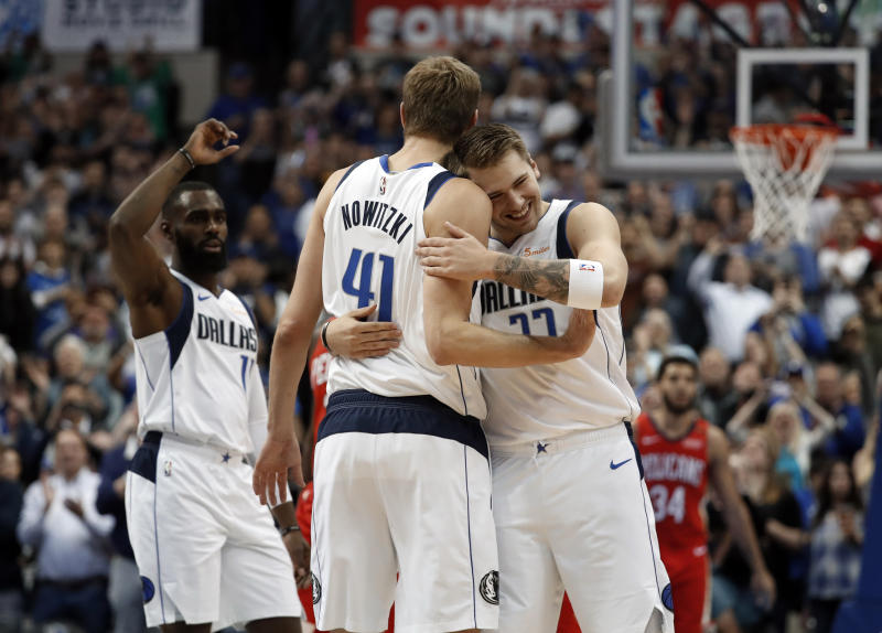 3c4a7a096 Nowitzki passes Chamberlain for 6th on NBA scoring list