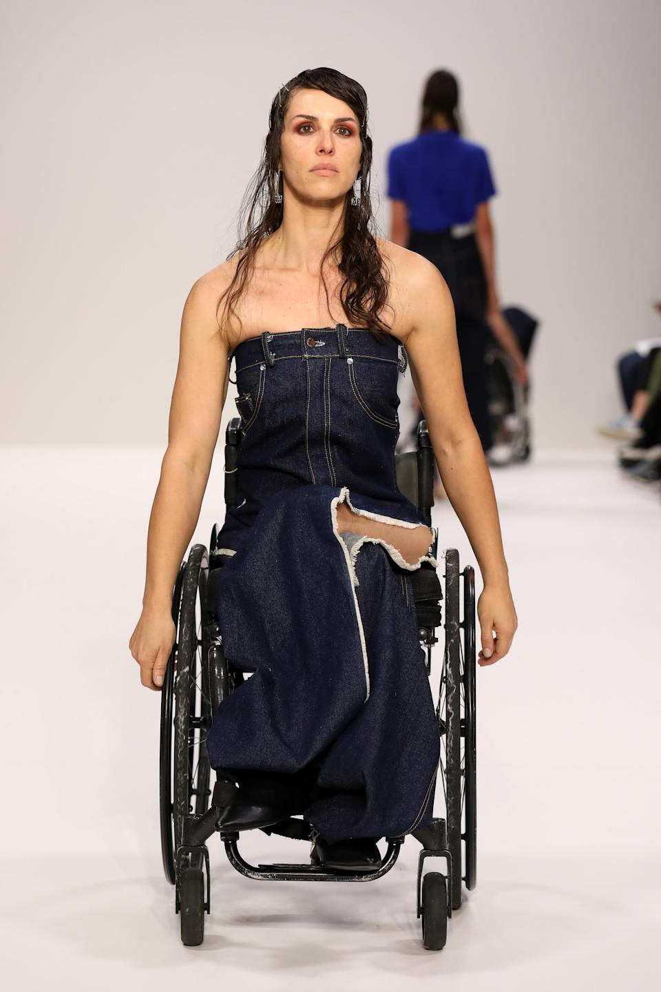 The designer herself is now a full-time wheelchair user [Photo: Getty]