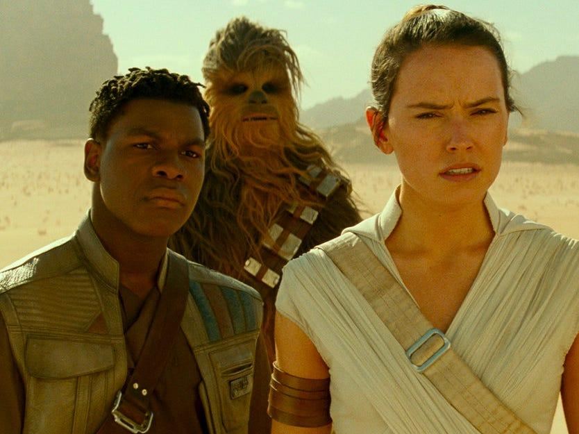 """After years of waiting, viewers learned who Rey's parents were in """"The Rise of Skywalker."""""""