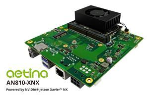 This new NVIDIA Jetson Xavier NX based edge AI computing platform supported high speed networking capability function such as 5G module and certified Azure IoT for next edge AIoT solution.