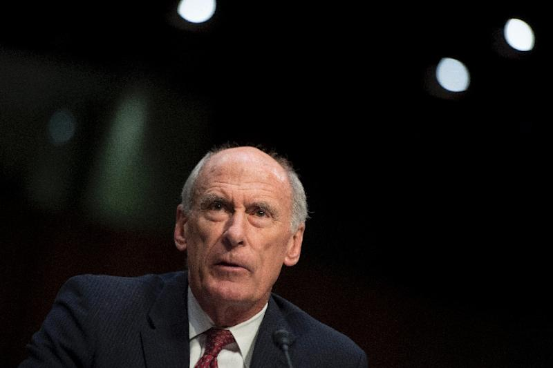 Director of National Intelligence Dan Coats testifies before the Senate Intelligence Committee on May 11, 2017