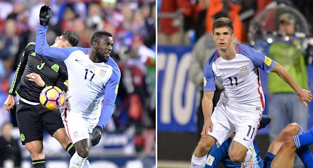 Altidore and Pulisic are worthy winners of 2016's top honors. (Getty Images)