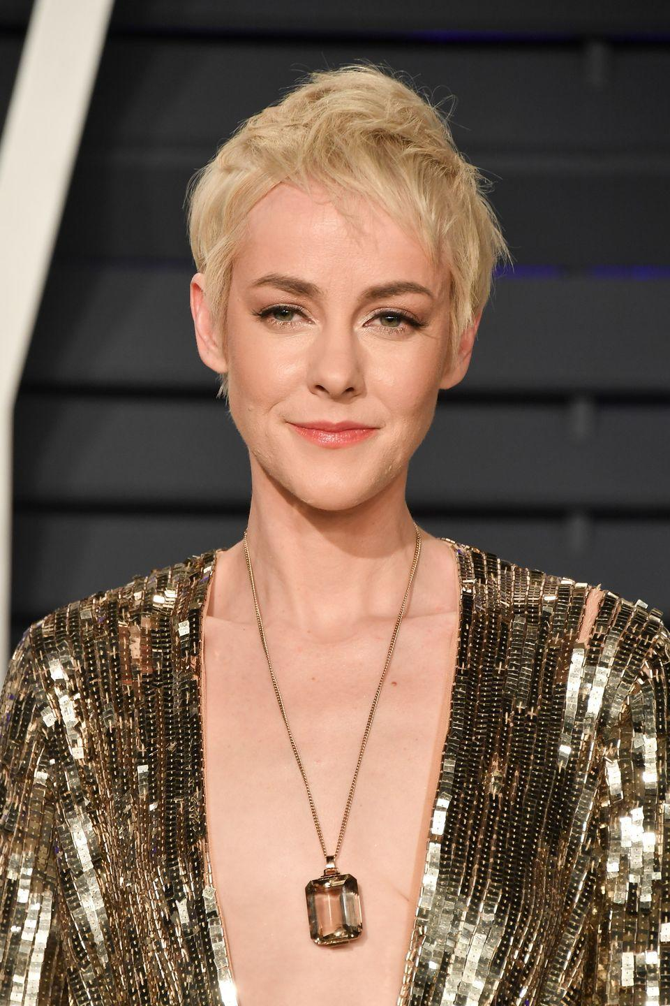 """<p>Fans of <em>The</em> <em>Hunger Games </em>actress were excited when it was announced she'd appear in <em>Batman v Superman</em><em>, </em>but when the film premiered, she was nowhere to be found. Thanks to an <a href=""""https://www.indiewire.com/2016/06/jena-malone-batman-v-superman-role-ultimate-edition-credits-dc-jenet-klyburn-1201689627/"""" rel=""""nofollow noopener"""" target=""""_blank"""" data-ylk=""""slk:extended release of the film"""" class=""""link rapid-noclick-resp"""">extended release of the film</a>, we are able to catch a glimpse of Malone's scenes as a scientist, but the actress was cut from the theatrical film. </p>"""