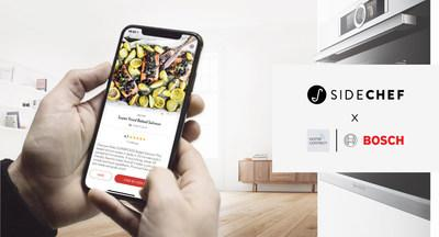 SideChef's collection of 15,000 smart recipes are now integrated with Home Connect enabled appliances from Bosch, Thermador, Siemens, Neff, and Gaggenau. Home Connect users will now also benefit from SideChef's core features including meal planning, shopping lists, grocery delivery, and recipe personalization all within one convenient application.