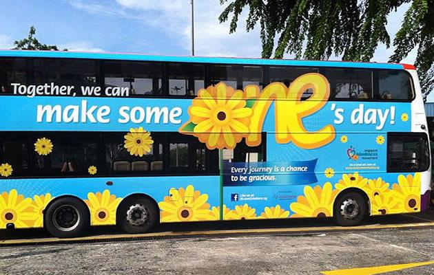 Singapore Kindness Movement kick off new courtesy campaign on Monday focusing on behaviour on public transport. (Singapore Kindness Movement photo)