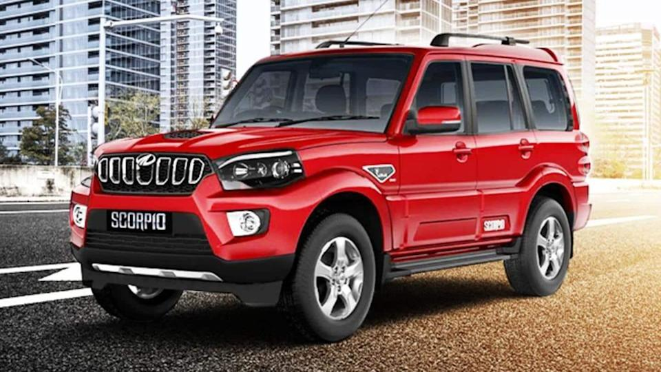 Interiors of 2022 Mahindra Scorpio SUV previewed in spy images