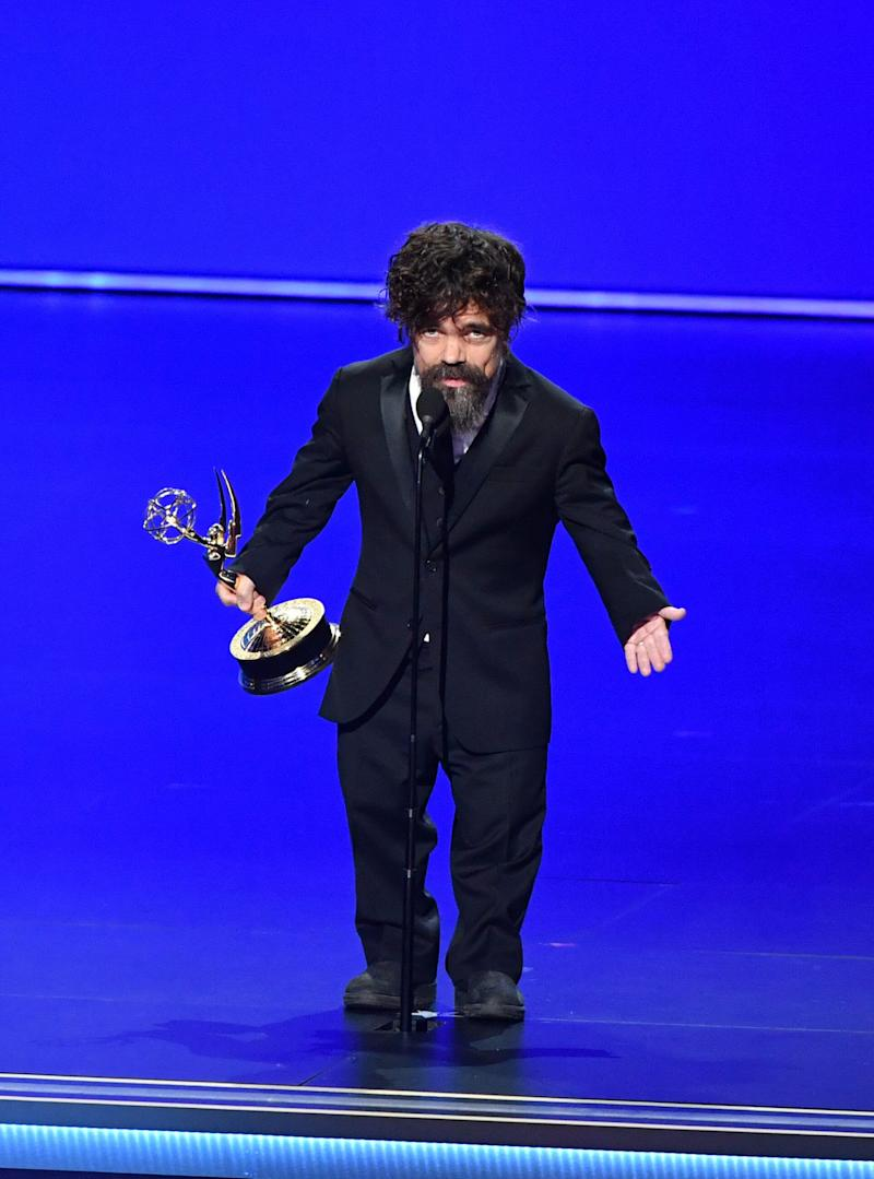 Game Of Thrones Star Peter Dinklage's Sweary Emmys Speech Censored By Producers