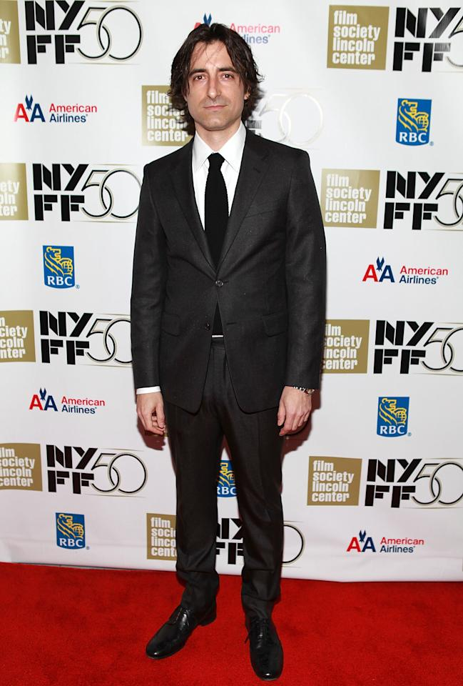 "NEW YORK, NY - SEPTEMBER 30: Director Noah Baumbach attends the ""Frances HA"" - Gala Presentation - 50th New York Film Festival at Alice Tully Hall on September 30, 2012 in New York City.  (Photo by Robin Marchant/Getty Images)"