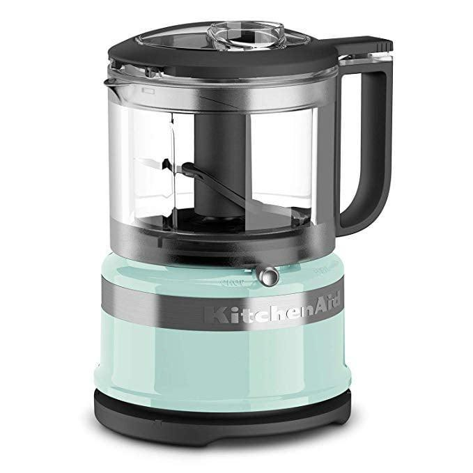 <p>This handy <span>KitchenAid Mini Food Processor</span> ($65) comes in tons of different colors.</p>