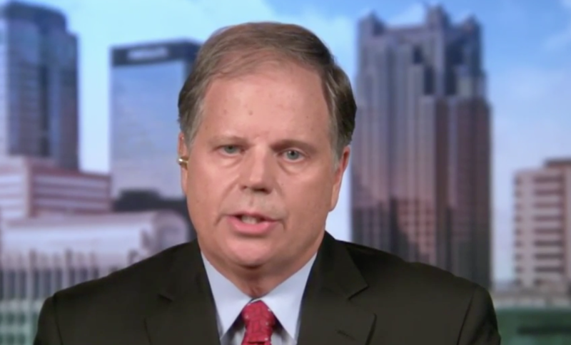 Democratic Alabama U.S. Senate candidate Doug Jones (via MSNBC)