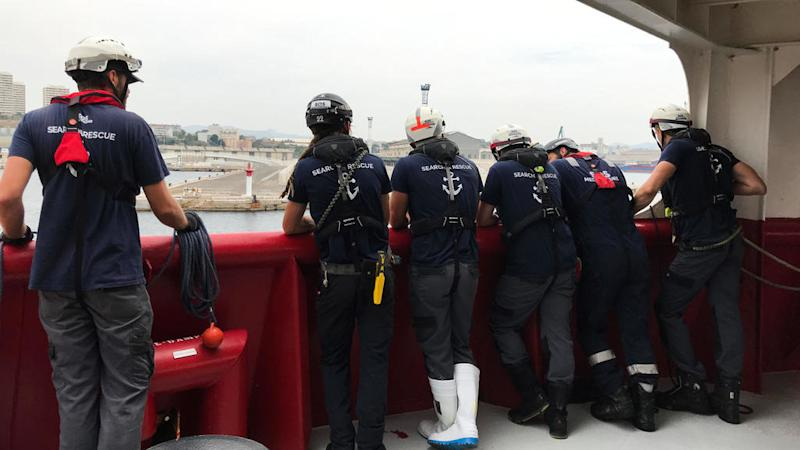 Italy's new govt allows rescued Ocean Viking migrants to disembark