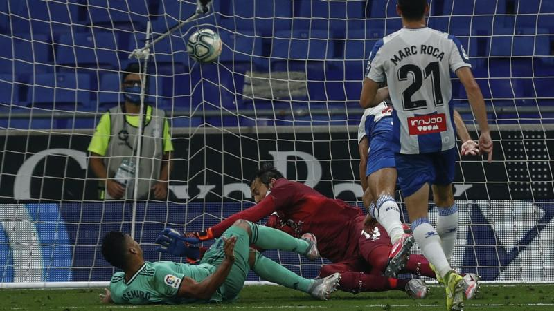 Real claim LaLiga lead with narrow win over Espanyol