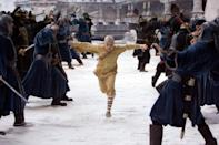 """<p><strong>Netflix's Description:</strong> """"In a world ravaged by the Fire nation's aggression toward the peaceful Air, Water and Earth nations, a young boy holds the key to restoring peace.""""</p> <p><a href=""""https://www.netflix.com/title/70119441"""" class=""""link rapid-noclick-resp"""" rel=""""nofollow noopener"""" target=""""_blank"""" data-ylk=""""slk:Stream The Last Airbender on Netflix!"""">Stream <strong>The Last Airbender</strong> on Netflix!</a></p>"""