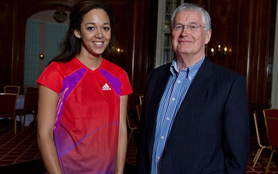 Barrie has been supporting Katarina Johnson-Thompson since she was a teenager - Colin McPherson/Corbis via Getty Images