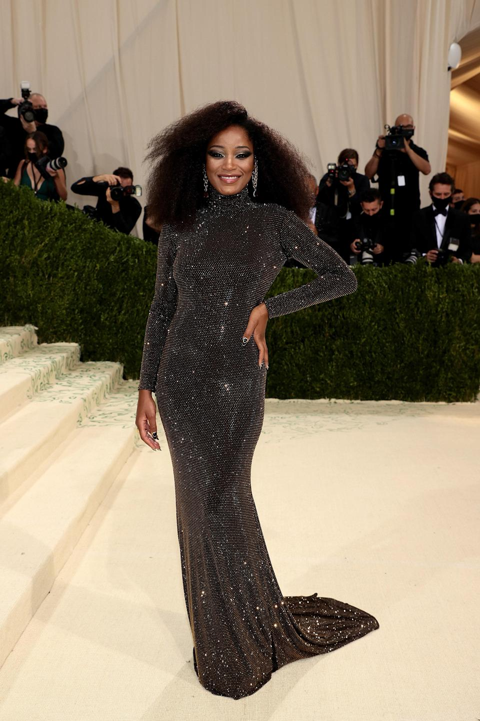"""<h1 class=""""title"""">The 2021 Met Gala Celebrating In America: A Lexicon Of Fashion - Arrivals</h1><cite class=""""credit"""">Dimitrios Kambouris/Getty Images for The Met Museum/Vogue</cite>"""