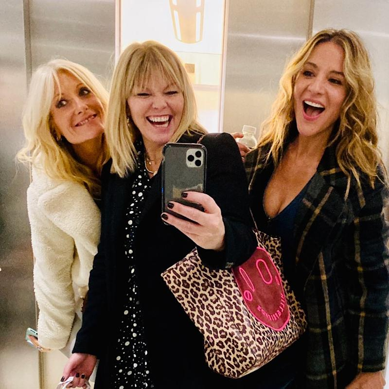 Gaby Roslin and Amanda Byram appear on this week's episode of White Wine Question Time, hosted by Kate Thornton