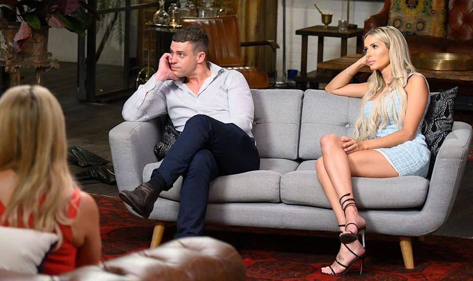 MAFS' Michael and Stacey at the show's reunion
