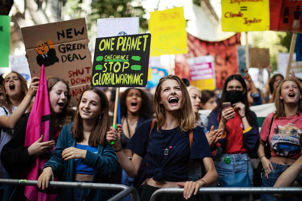 "<p>Young people across the world rallied on Friday, September 20, 2019 to make a bold statement about climate change and the future of humanity. Sixteen-year-old Swedish activist <a href=""https://www.cnn.com/2019/09/20/us/greta-thunberg-profile-weir/index.html"" target=""_blank"">Greta Thunberg</a> started ""Fridays for Future"" in August 2018 to raise awareness about world leaders' lack of action to combat climate change. ""Every Friday, we will sit outside of Swedish Parliament, until Sweden is aligned with the Paris Agreement,"" she said in <a href=""https://twitter.com/GretaThunberg/status/1041369960436703232"" target=""_blank"">a video</a> on Twitter last September. Now on its 57th week, her movement has gone global—an estimated 300,000 people <a href=""https://www.nbcnews.com/news/world/global-climate-strike-protests-expected-draw-millions-n1056231"" target=""_blank"">came out</a> in Australia, and another 100,000 in Berlin. Thurnberg spoke at the events in New York City on Friday, where <a href=""https://www.nbcnews.com/news/us-news/nyc-schools-let-1-1-million-students-cut-class-climate-n1055516"" target=""_blank"">1.1 million students</a> were told they were allowed to skip class to take a stand. Here are just a few of the powerful scenes from the hundreds of marches. </p>"