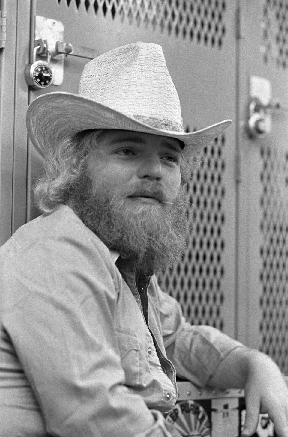 Dusty Hill in 1973 - Tom Hill/WireImage