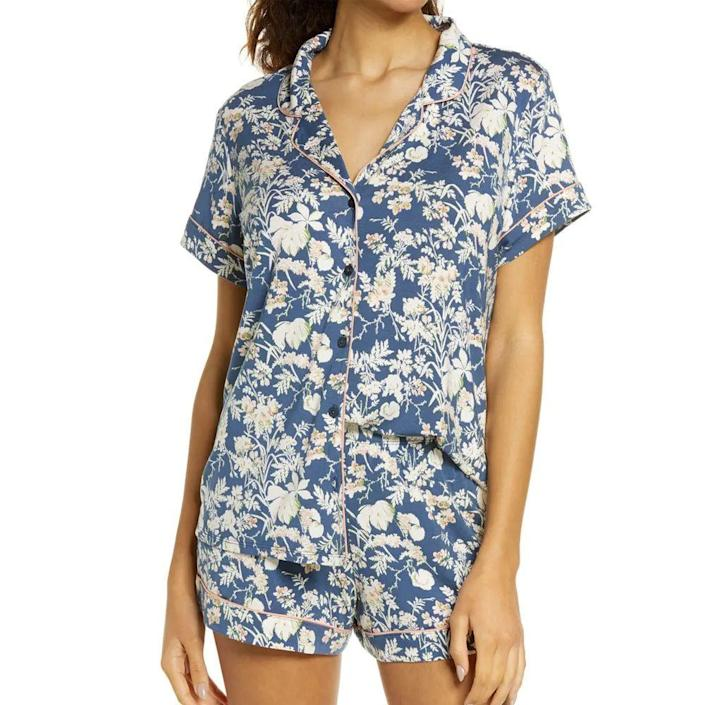 """<p><strong>Nordstrom Lingerie </strong></p><p>nordstrom.com</p><p><strong>$55.00</strong></p><p><a href=""""https://go.redirectingat.com?id=74968X1596630&url=https%3A%2F%2Fshop.nordstrom.com%2Fs%2Fnordstrom-lingerie-moonlight-short-pajamas%2F3837466&sref=https%3A%2F%2Fwww.goodhousekeeping.com%2Fholidays%2Fgift-ideas%2Fg4349%2Fgifts-for-college-graduates%2F"""" rel=""""nofollow noopener"""" target=""""_blank"""" data-ylk=""""slk:Shop Now"""" class=""""link rapid-noclick-resp"""">Shop Now</a></p><p>New beginnings call for wardrobe overhauls. Consider it the perfect time for your recent grad to upgrade her pajamas from an old T-shirt to a matching set, available in variety of patterns and solid colors.</p>"""