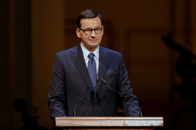 Polish PM tells voters COVID-19 is disease 'like any other'