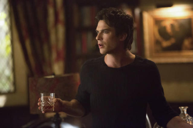 """The Originals"" -- Ian Somerhalder as Damon"