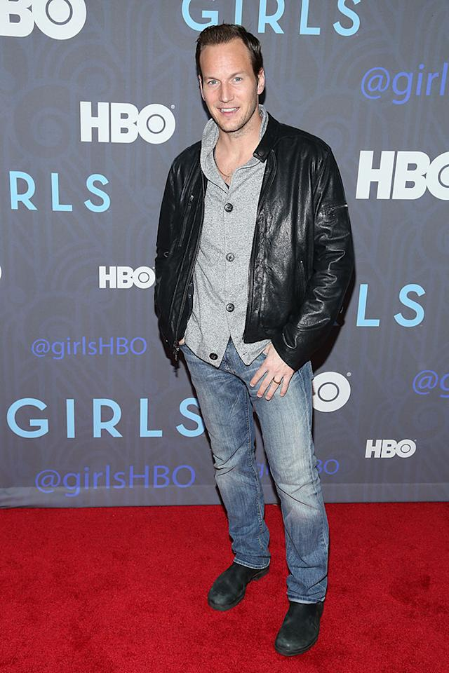 "Patrick Wilson attends HBO's premiere of ""Girls"" Season 2 at the NYU Skirball Center on January 9, 2013 in New York City."