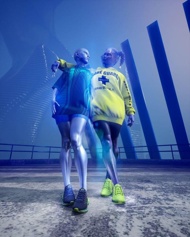 <p>An image from the Chromat x Reebok campaign. </p>