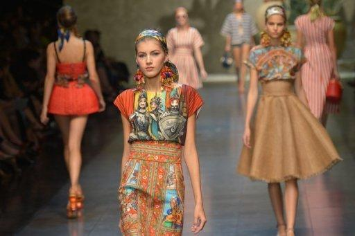 Dolce & Gabbana wowed the crowds with a fresh, innovative Sicilian-inspired collection
