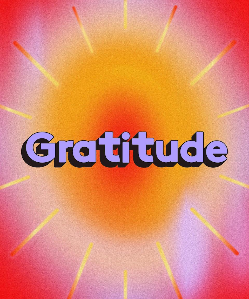 """<h2>Gratitude Journals</h2><br>""""I tend to be reactive in my journaling, usually when I'm in a place of frustration rather than gratitude,"""" wrote one R29 reader. """"[This year] has reminded me to take the time to write down the good things in my life, and hopefully have that positivity there when I need a reminder."""" Another bonus to a gratitude practice? """"I'm also hoping it can bleed into other areas of my life to increase my overall nature to be more focused on the positive than the things that can or have gone wrong — 2020, am I right?!"""""""