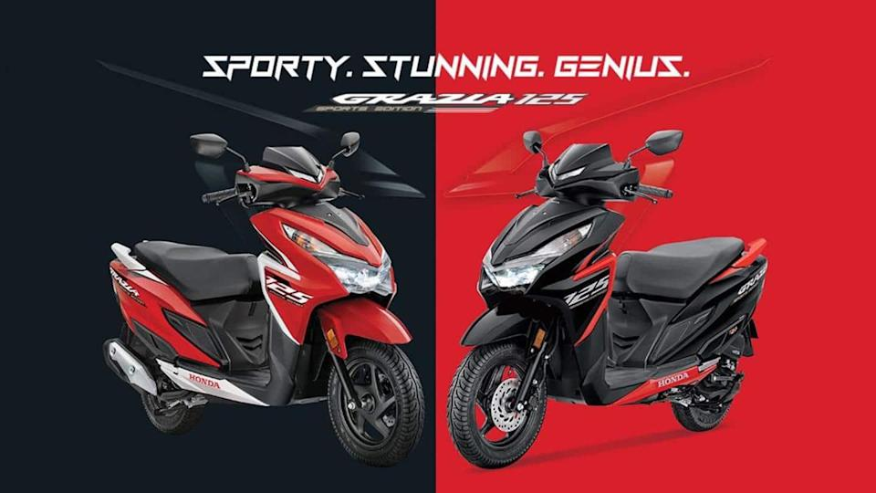 Honda Grazia 125 Sports Edition available with Rs. 3,500 cashback