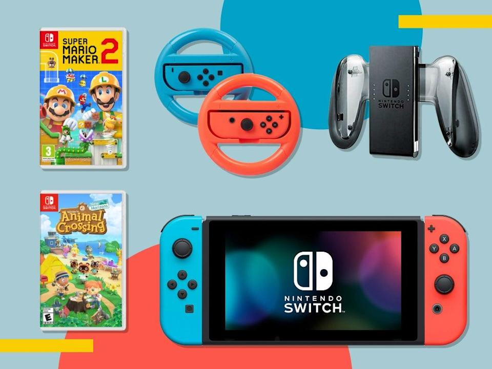 We'd like to think some retailers will offer discounts on the brand new Switch OLED, but don't hold your breath  (The Independent)
