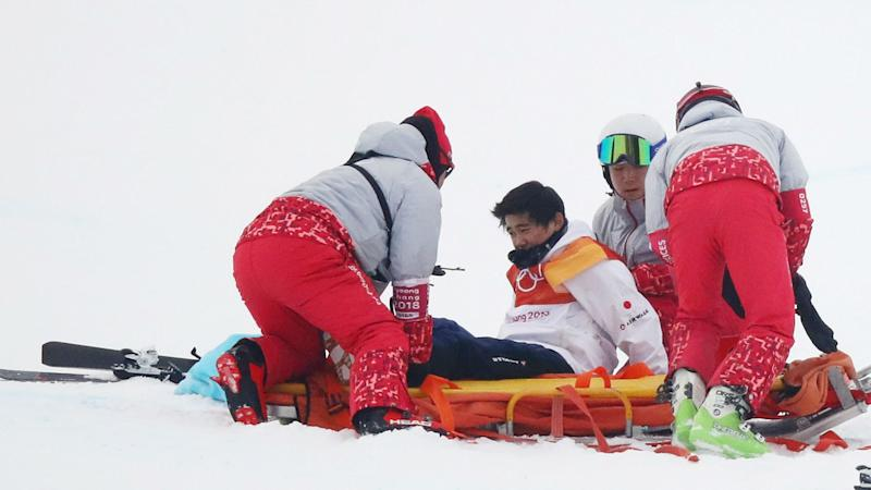 Winter Olympics 2018: Snowboarder Yuto Totsuka taken to hospital after ugly crash