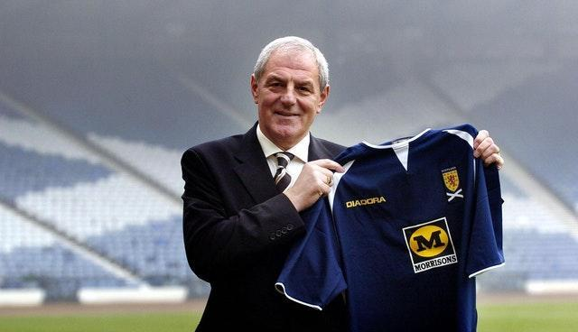 Walter Smith after becoming Scotland manager