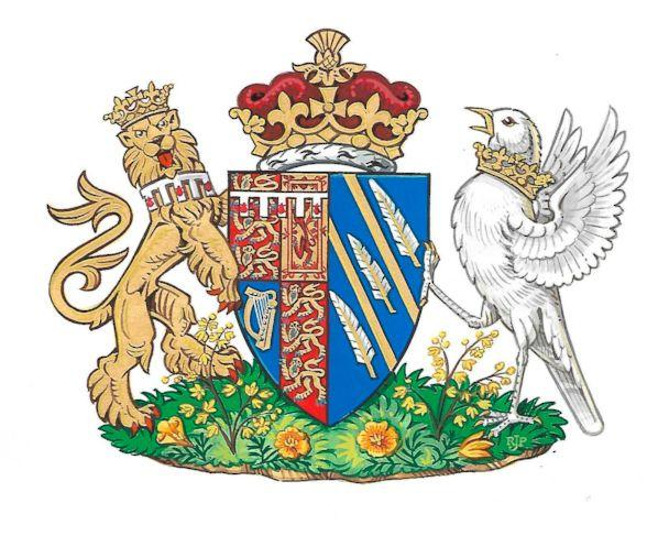 Meghan's tribute to California in coat of arms design