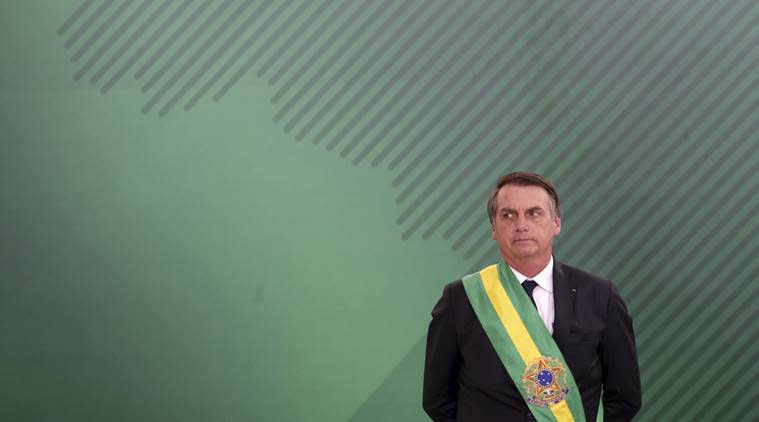Brazilian President Bolsonaro shocks with Brazil 'golden shower' tweet