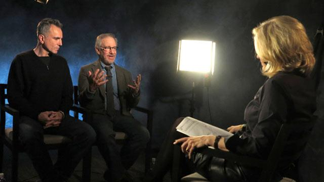Daniel Day-Lewis, Spielberg Share 'Lincoln' Experience