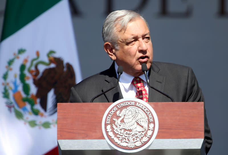 Mexican president voices regret on growth, but says economy fairer