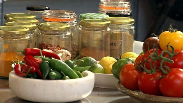 PHOTO: Spices from Yotam Ottolenghi's test kitchen as seen on 'GMA.' (ABC News)