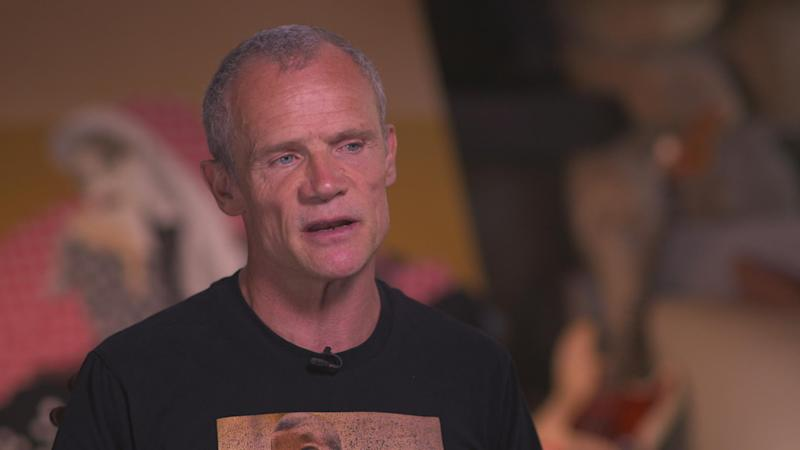 "Flea on writing his memoir, the alchemy of music, and ""turning pain into something beautiful"""