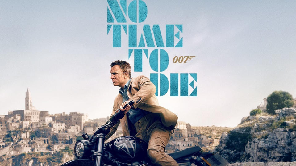 Daniel Craig returns as James Bond on the IMAX poster for 'No Time To Die'. (Credit: Eon/Universal)