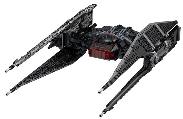 <p>You can never go wrong with any of the <em>Star Wars</em> Lego models, but Kylo Ren's new TIE fighter ($80) is pretty slick. There are other <em>Last Jedi</em> sets ranging in size and price from about $10 to $150 at most retailers. </p>