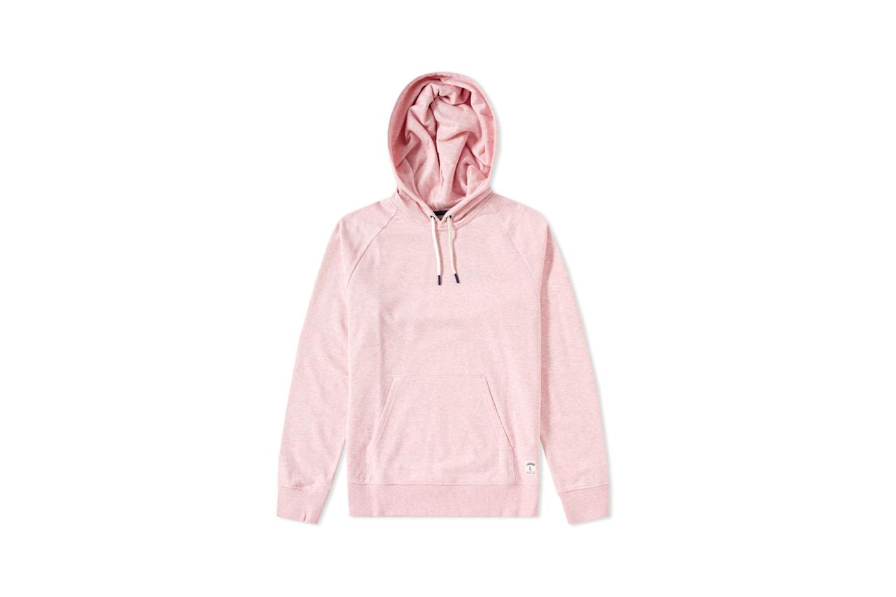 "<p>$95, buy now at <a rel=""nofollow"" href=""https://www.endclothing.com/us/carhartt-holbrook-marl-hoody-i020713-71200.html?mbid=synd_yahoostyle"">endclothing.com</a></p>"
