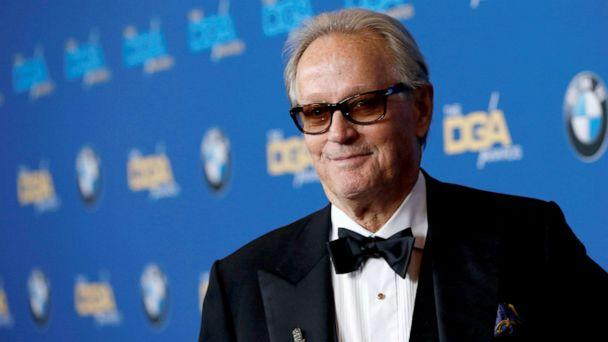 PHOTO: Actor Peter Fonda poses at the 70th Annual DGA Awards in Beverly Hills, California, Feb. 3, 2018. (Mario Anzuoni/Reuters, FILE)