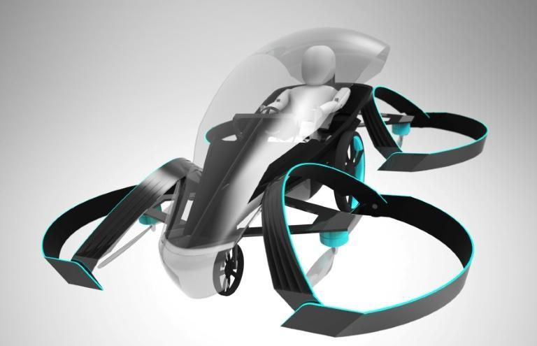 Talk of flying cars will be growing at the Consumer Electronics Show with some designs to be on display such as this image from Cartivator backed by Toyota with the Japanese automaker looking launch a flying car in time for the Tokyo 2020 Olympics