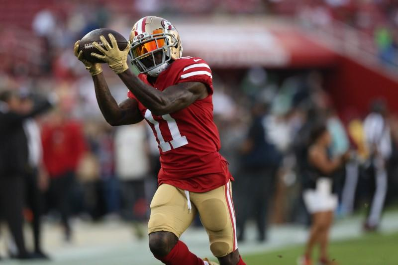 49ers trade WR Marquise Goodwin to the Philadelphia Eagles