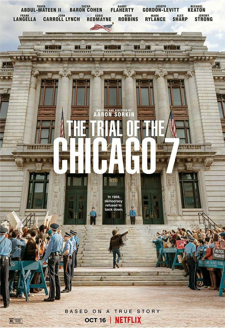 Poster for The Trial of the Chicago 7